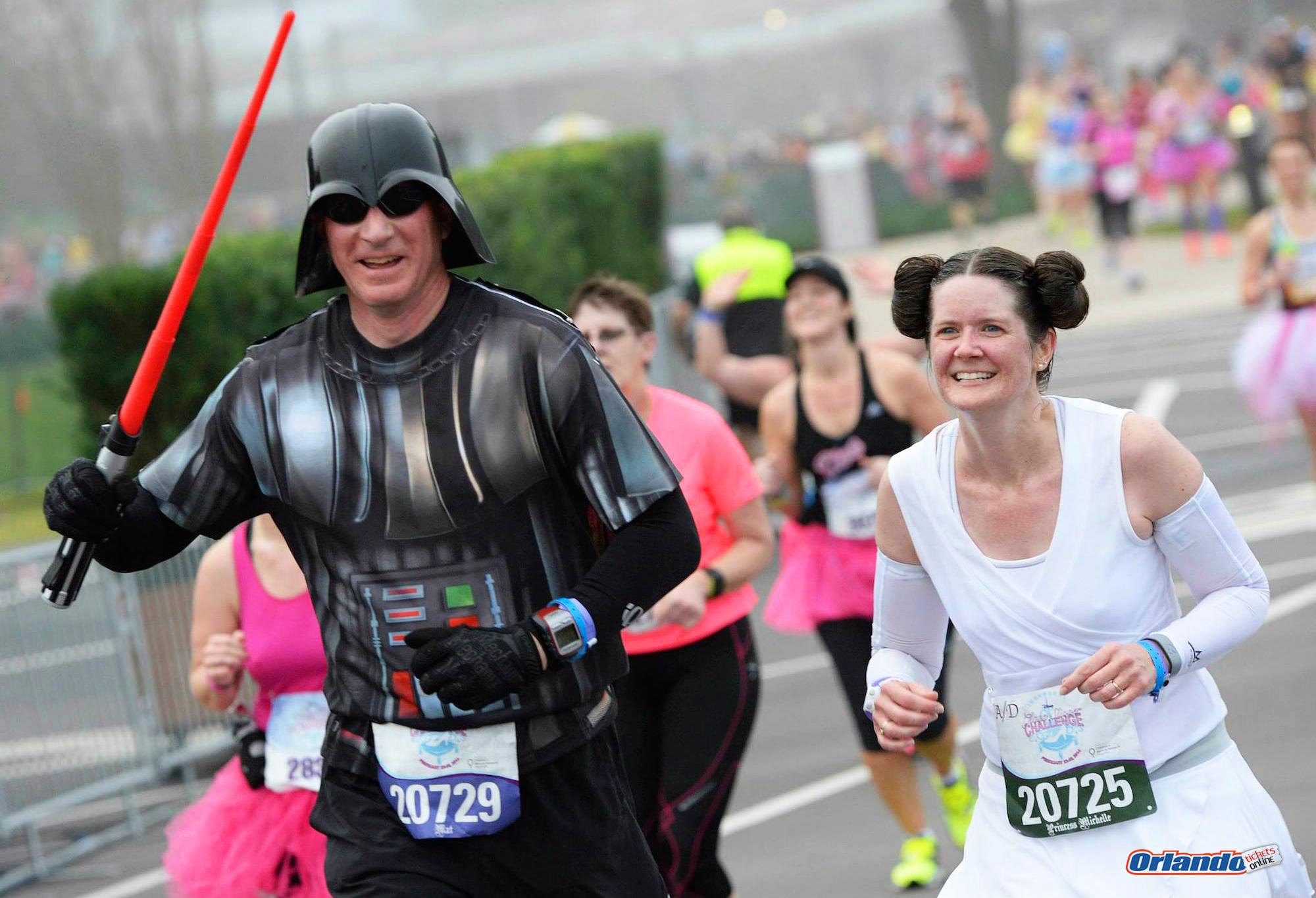 Meia Maratona Star Wars disney