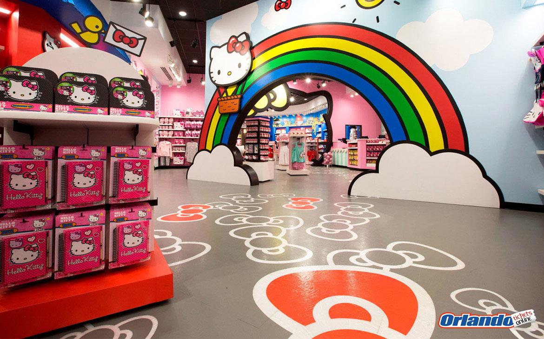 Hello Kitty chegou em Orlando