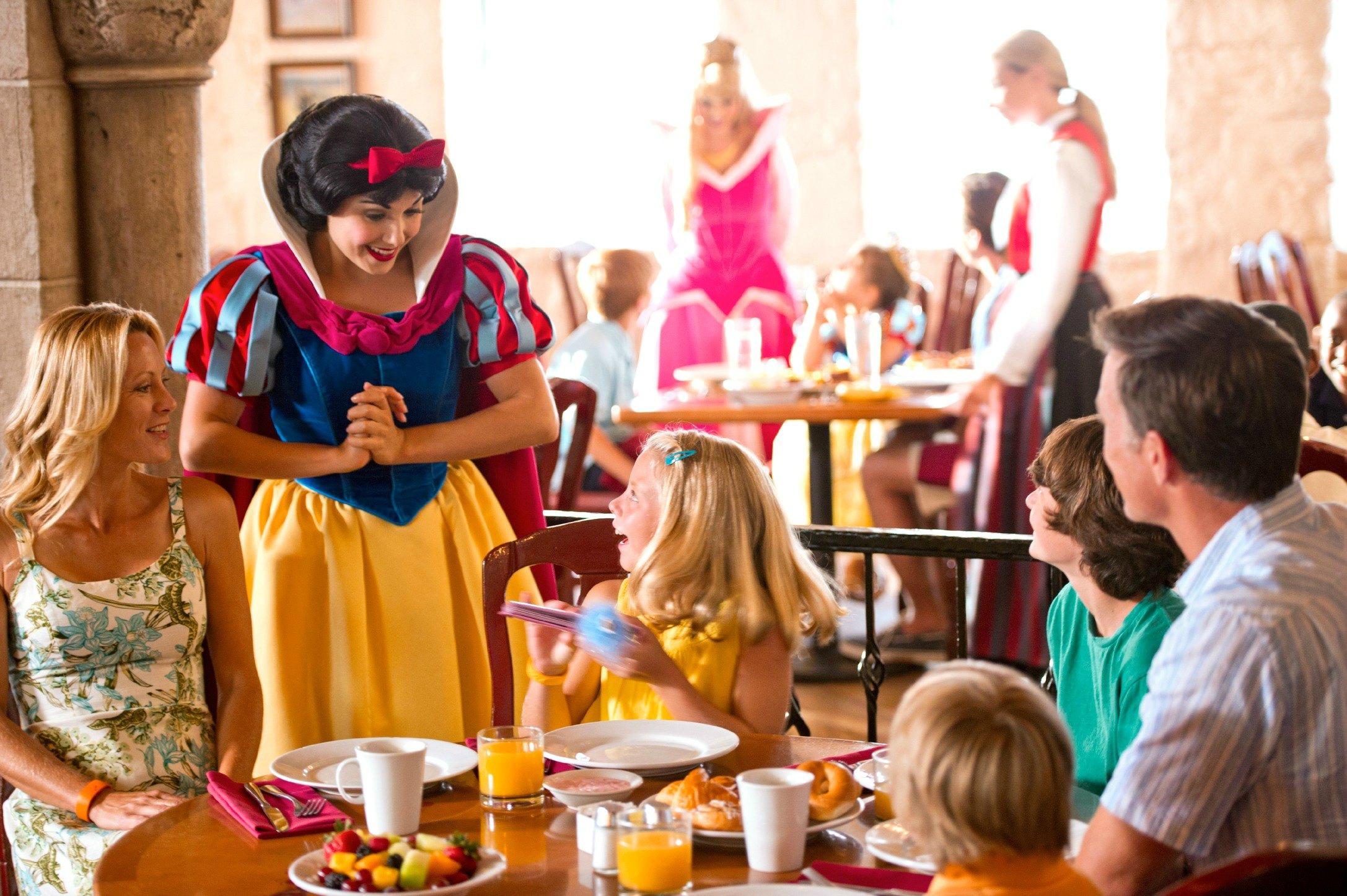 Comer de graça na Disney 3