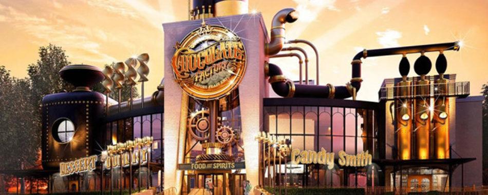A Fantástica Fábrica de Chocolates vem aí!