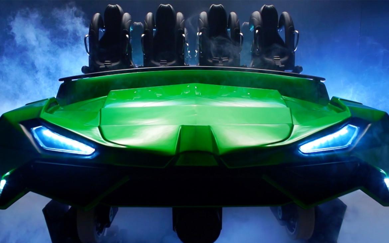montanha russa do Hulk 1