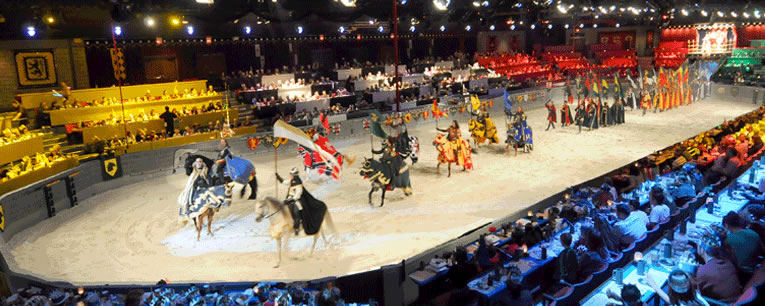Medieval Times e Pirates Dinner Show