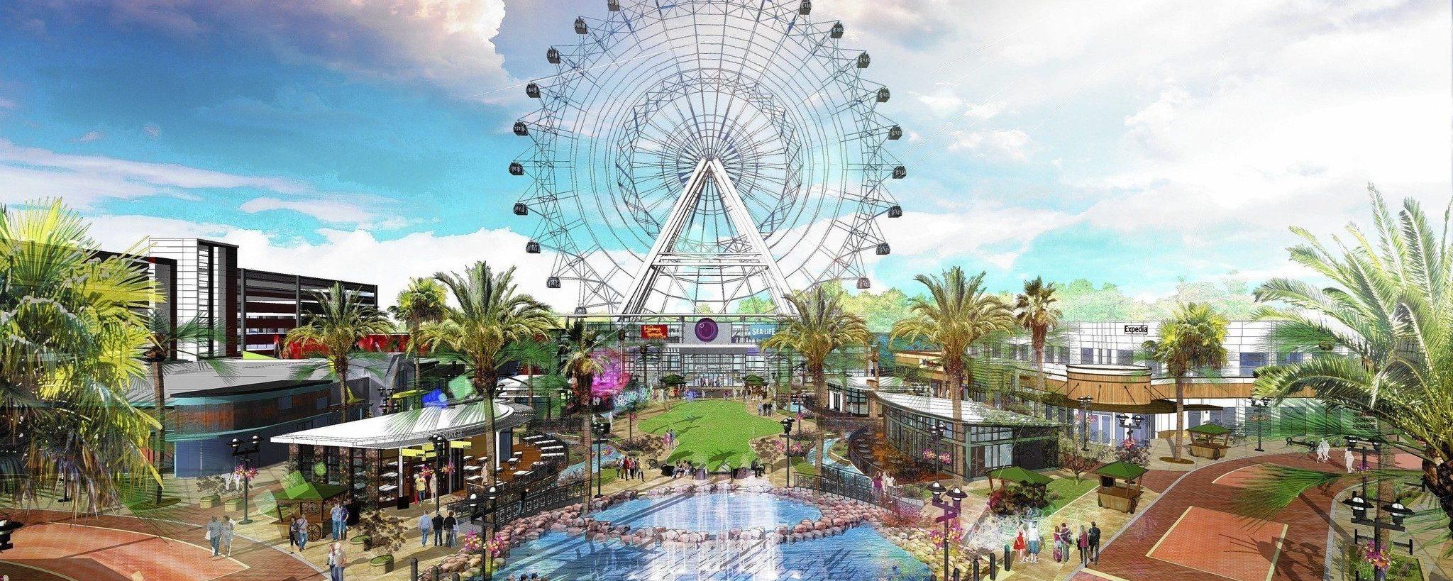 Conheça o ICON Park: Orlando Eye, Madame Tussauds e Sea Life