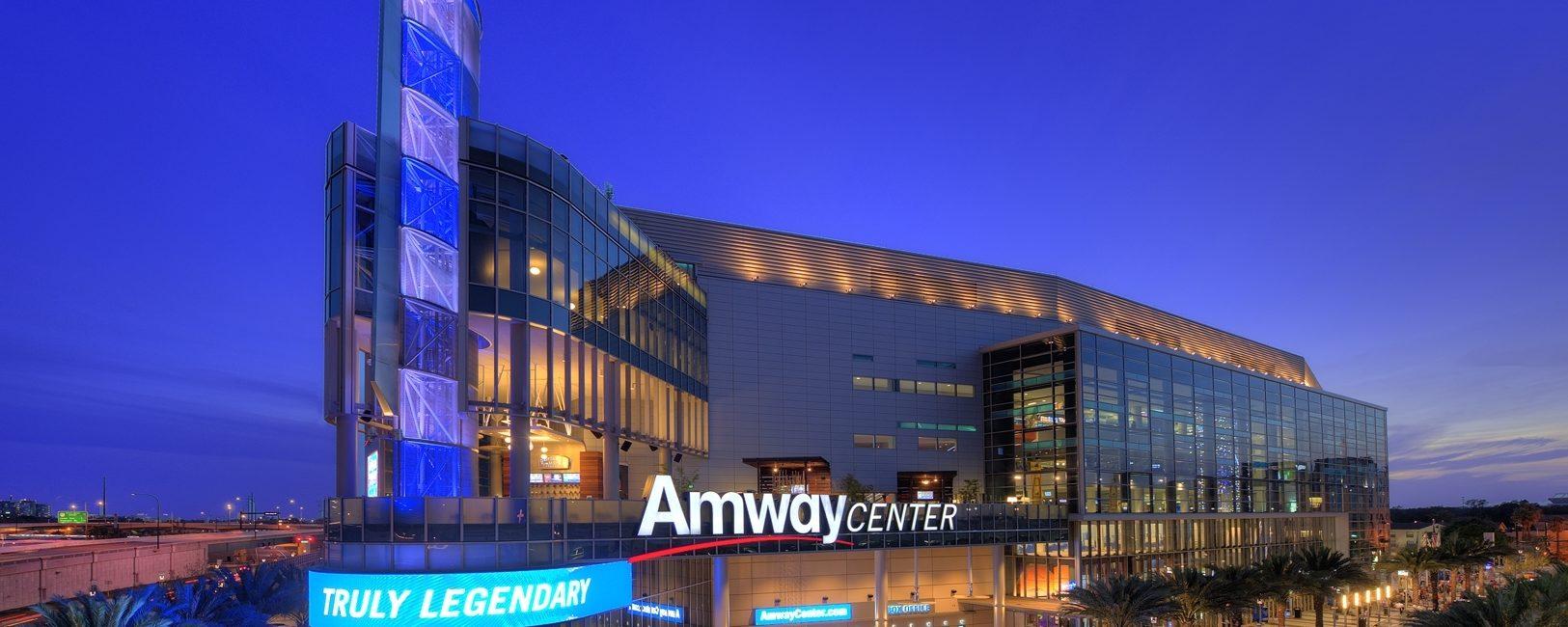 Programação completa do Amway Center 2019