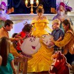 """Onde encontrar os personagens de  """"A Bela e A Fera"""" na Disney?"""