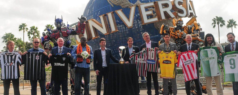 Jogadores e personalidades participam de evento de abertura da Florida Cup no Universal Orlando Resort
