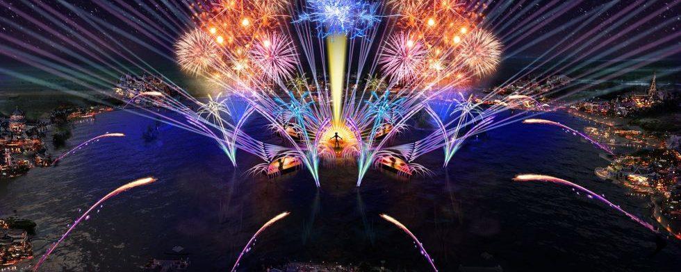 O novo show de fogos do Epcot irá estrear na primavera americana