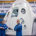 Lançamento tripulado da SpaceX no Kennedy Space Center