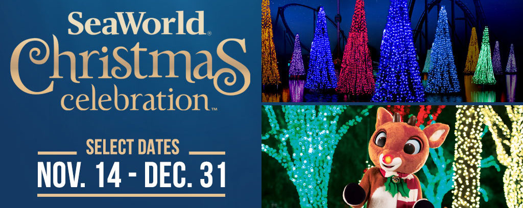 SeaWorld's Christmas Celebration retorna no dia 14 de novembro
