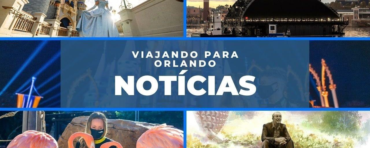Viajando para Orlando – Notícias – 14 de dezembro de 2020