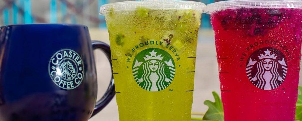 Coaster Coffee Company está em funcionamento no SeaWorld Orlando