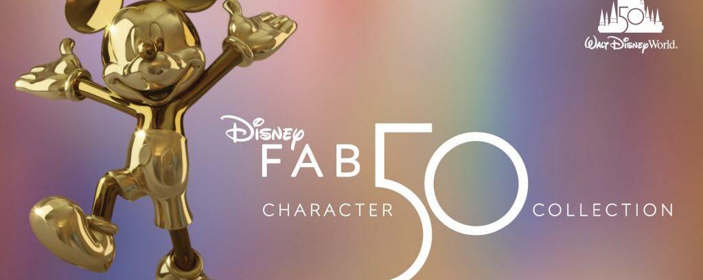 Revelada a primeira escultura Disney Fab 50