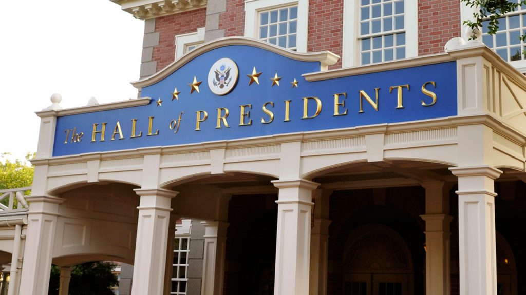 Hall of Presidents at Magic Kingdom Park