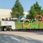 Rings Across America da NBC Olympics no Universal Orlando Resort