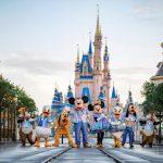 Retorna a necessidade do uso de coberturas faciais em locais internos no Walt Disney World Resort